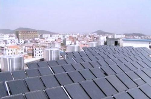 太阳能热泵热水系统工程