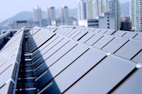 别墅太阳能热水工程